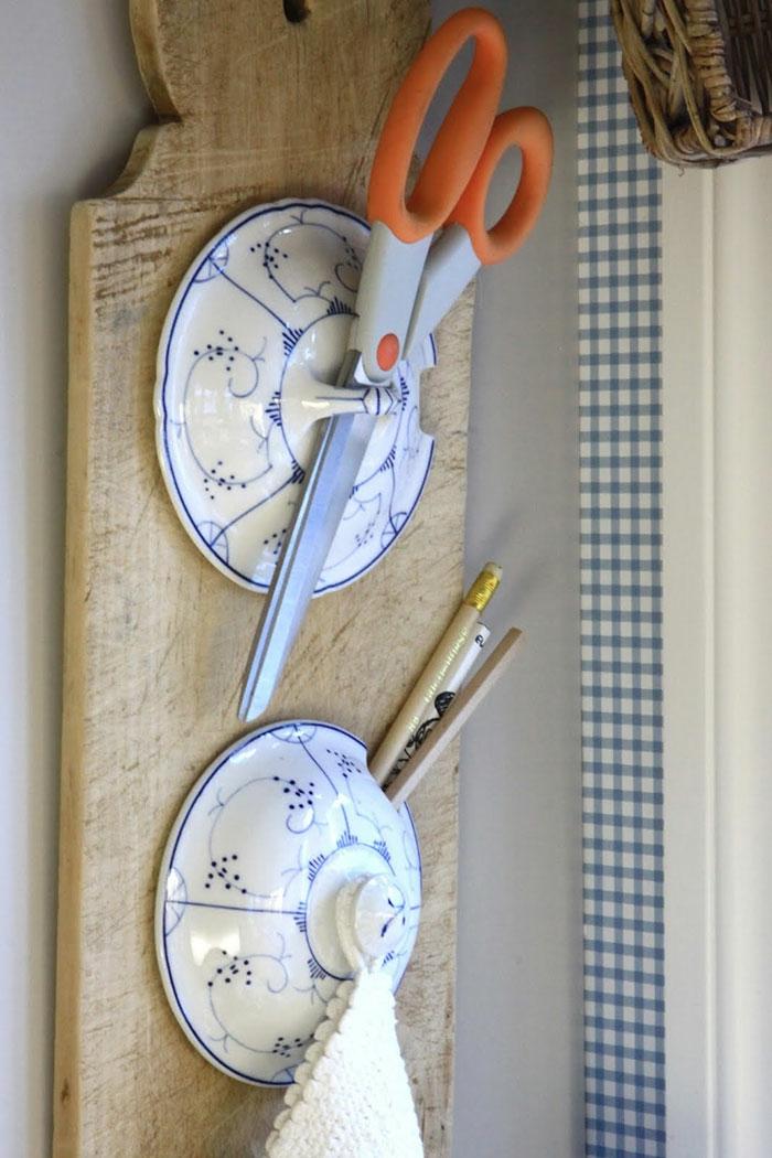upcycling ideen kuechenutensilien aus alt macht neu Coole Bastelideen DIY bastelideen alte küchenkrams neue ornung
