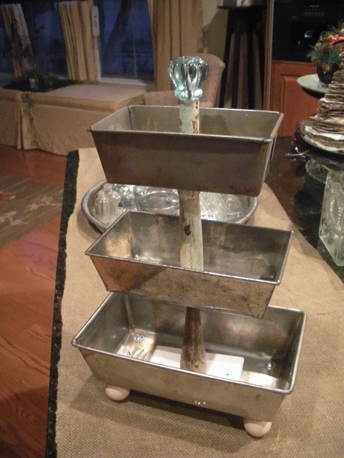upcycling ideen kuechenutensilien aus alt macht neu Bastelideen DIY bastelideen alte küchenkrams schmuck aufbewahrung