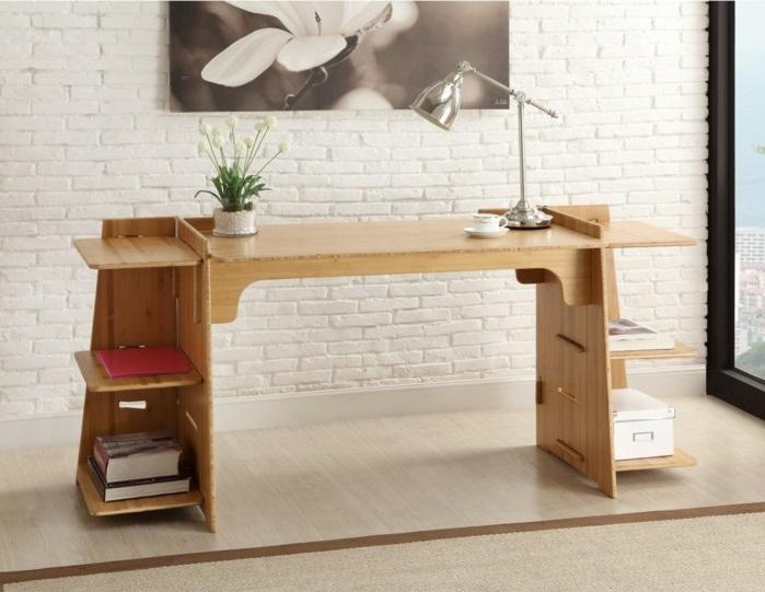 DIY Schreibtisch selber bauen Arbeitstisch
