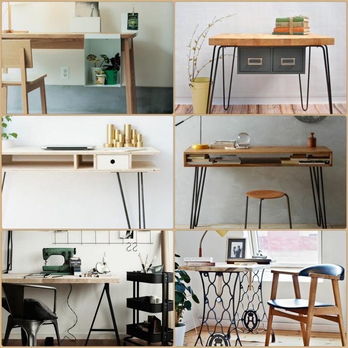 Diy projekt schreibtisch selber bauen 25 inspirierende for Schreibtisch dekorieren diy
