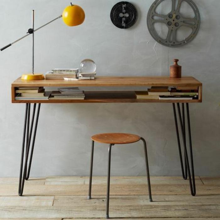 DIY Projekt: Schreibtisch Selber Bauen U2013 25 Inspirierende Beispiele Und  Ideen ...