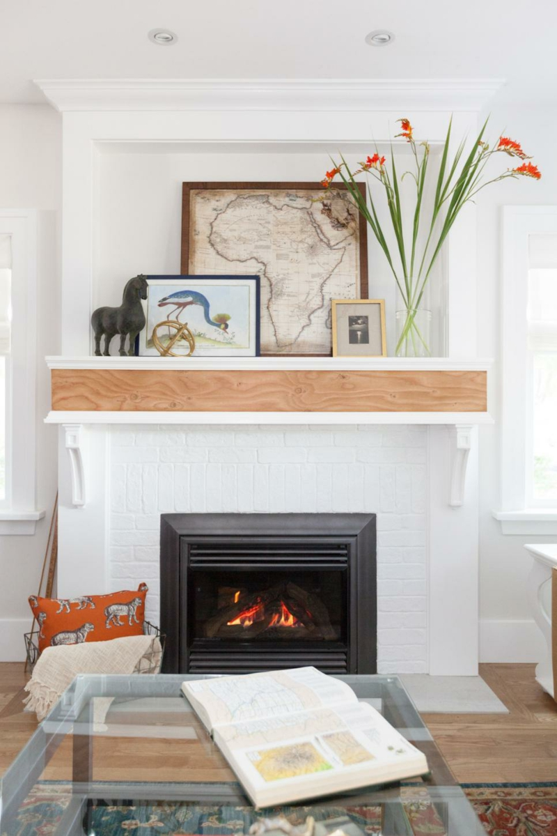 45 kamin deko ideen so k nnen sie den kaminsims kreativ dekorieren. Black Bedroom Furniture Sets. Home Design Ideas