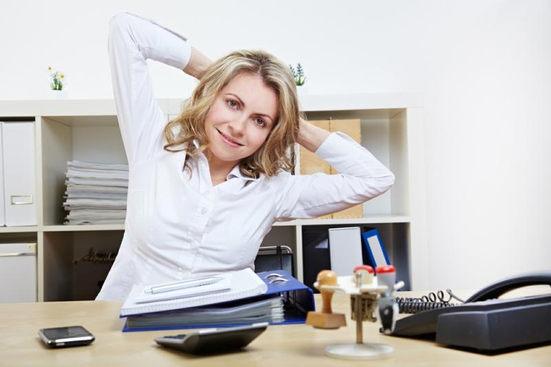 Eltern und Kinder abnehmen Übungen im Office