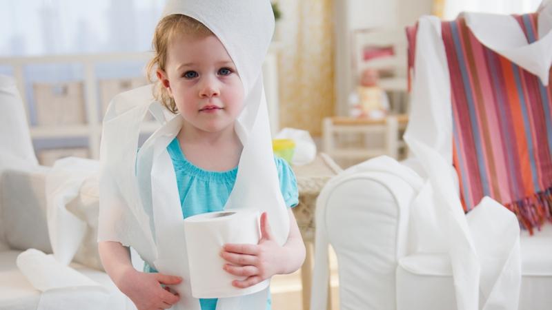 Gäste WC Ideen Kinder gute Manieren