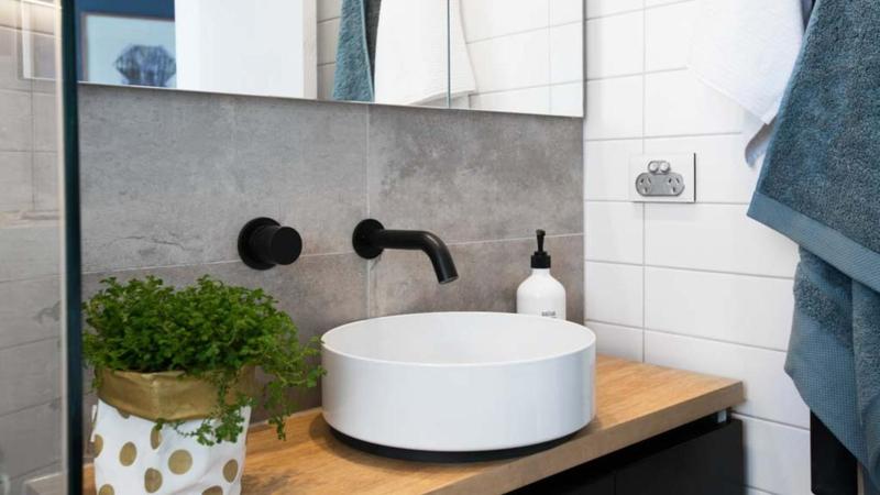 Gäste WC Ideen Waschbecken richtiges Benehmen gute Manieren