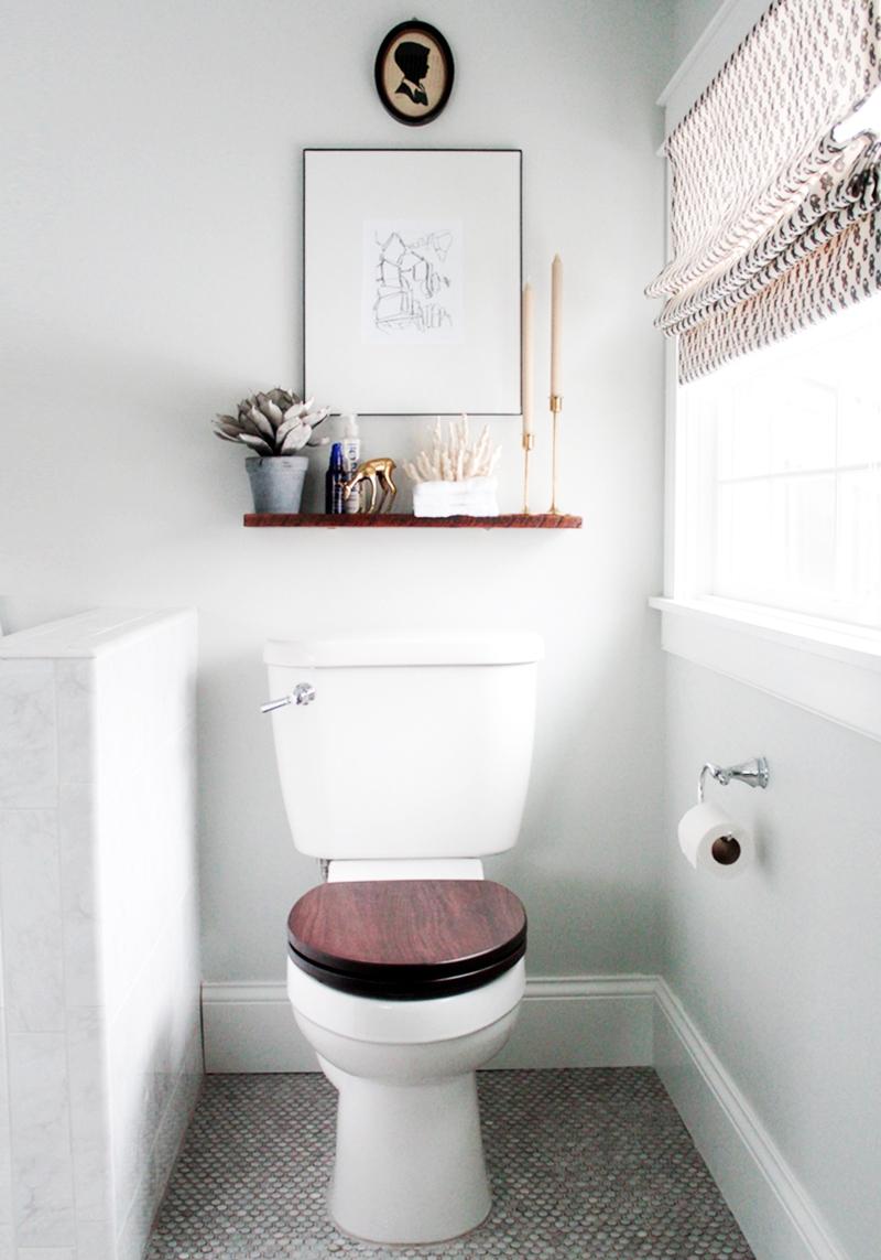 Gäste WC Ideen richtiges Benehmen den Klodeckel zumachen