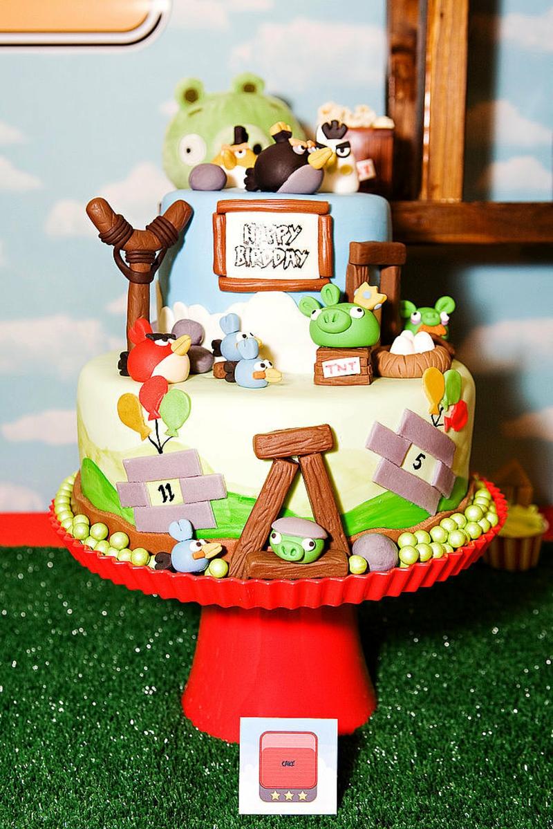 Geburtstagstorte Bilder Kindergeburtstagstorte Angry Birds