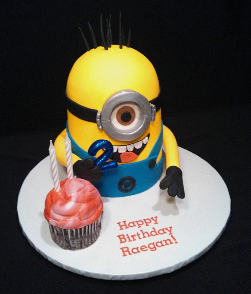 Happy Birthday Fishing Cake Roger