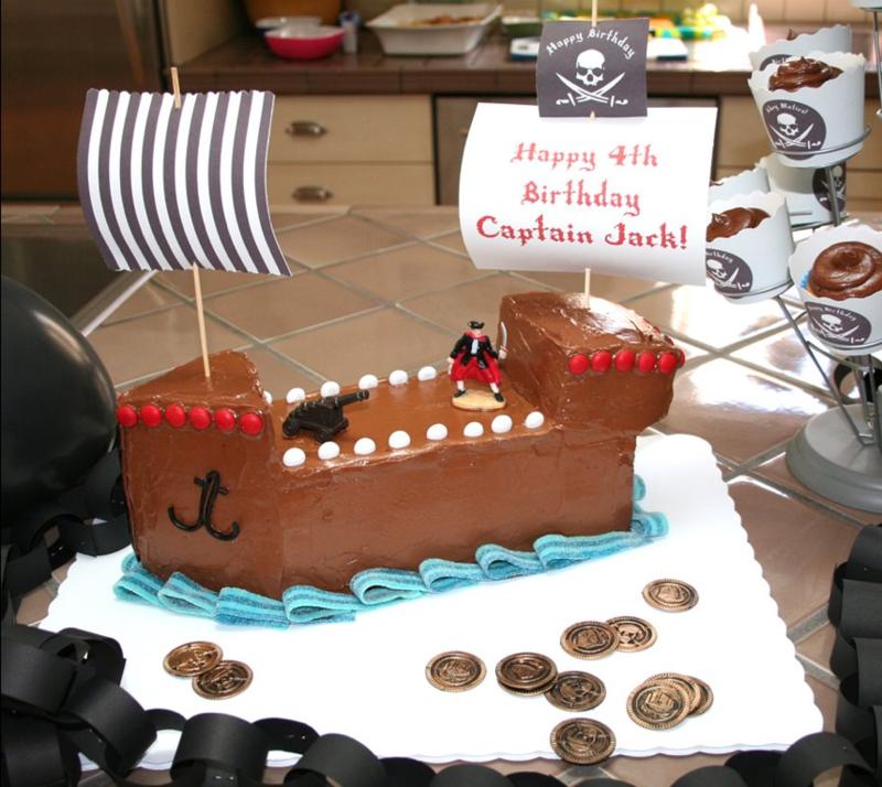 Geburtstagstorten Bilder Kindergeburtstagstorten Schiff