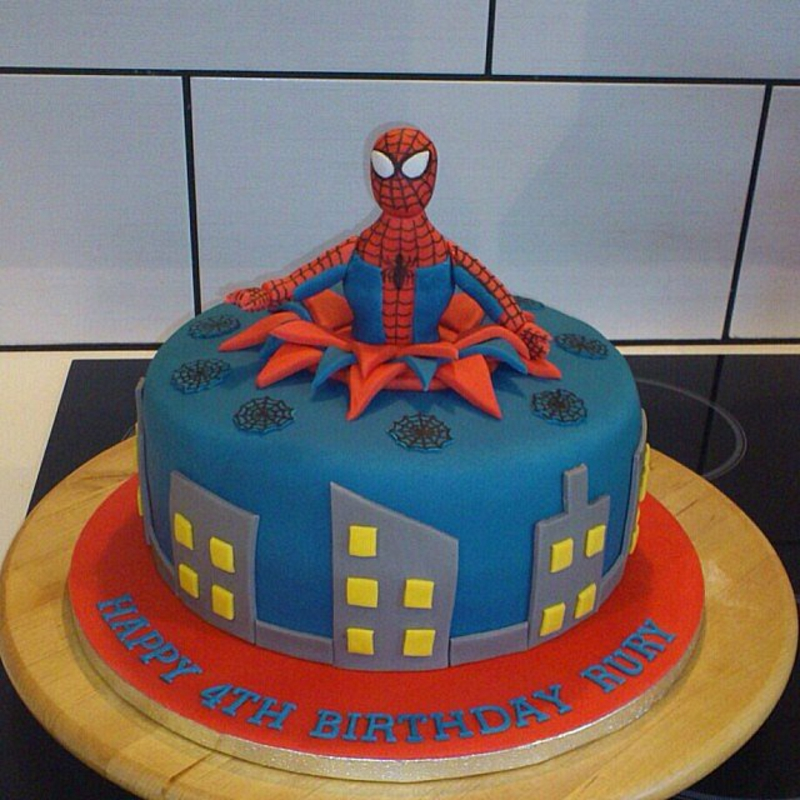 Geburtstagstorten Bilder Kindergeburtstagstorten Spiderman