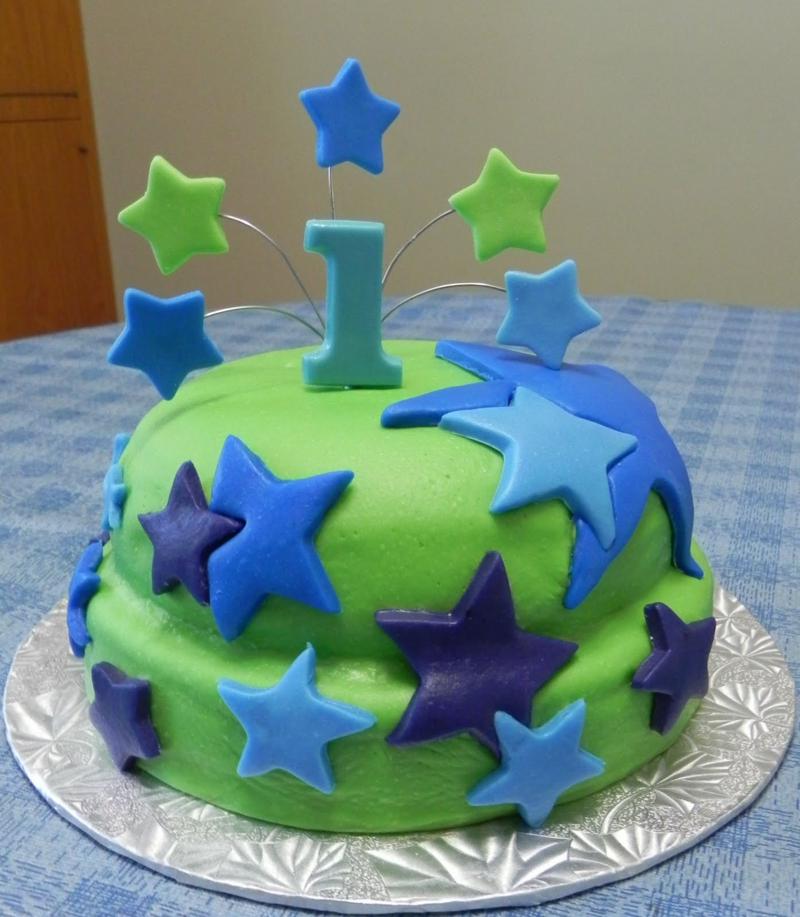 Geburtstagstorten Bilder Kindergeburtstagstorten Sterne Tortendeko