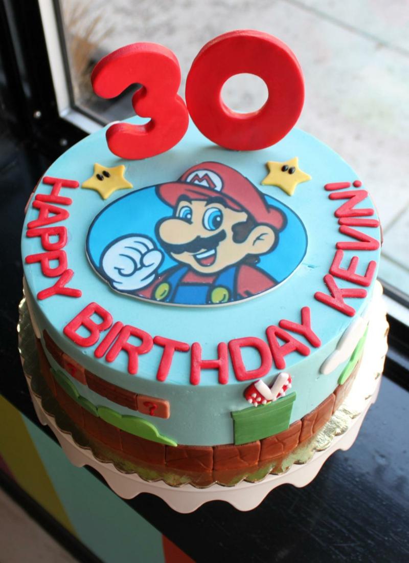 Geburtstagstorte Bilder Kindergeburtstagstorten Super Mario