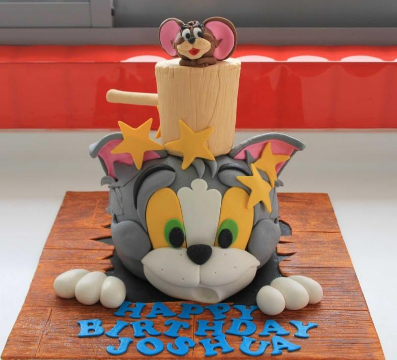 Geburtstagstorte Bilder Kindergeburtstagstorten Tom und Jerry