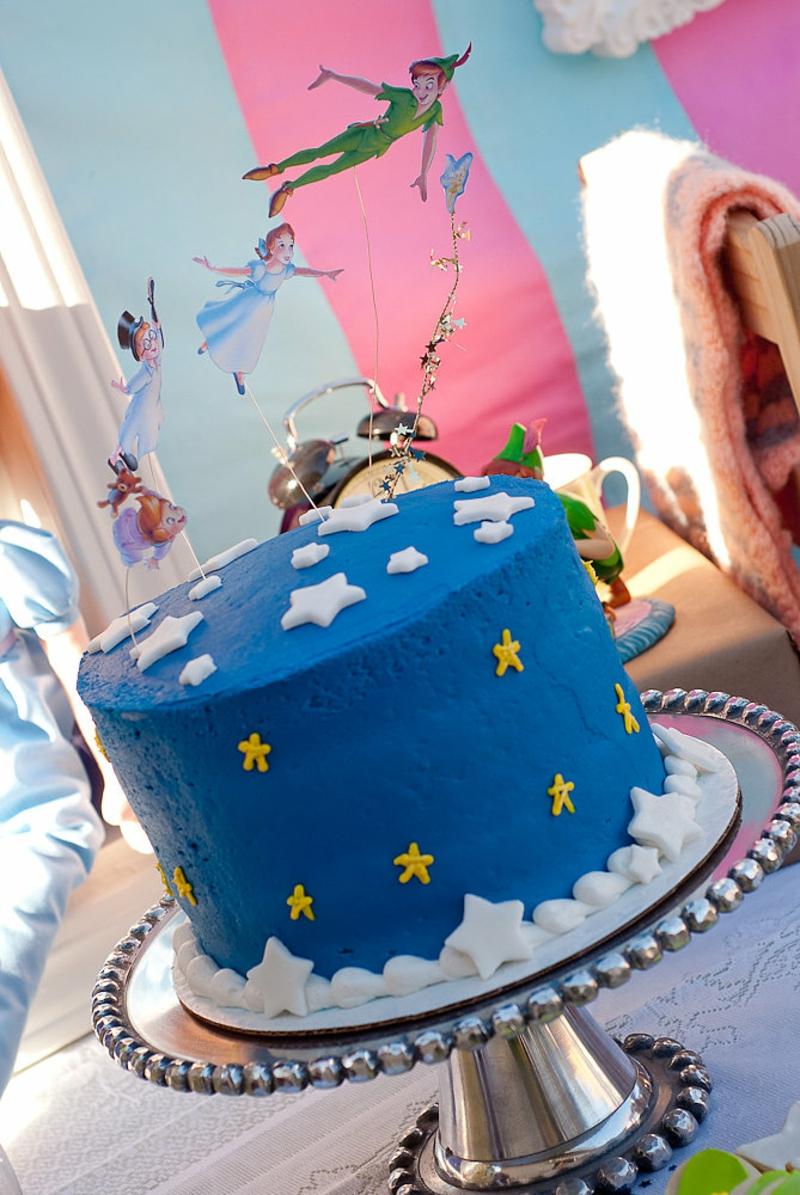 Geburtstagstorten Bilder Kindergeburtstagstorten Tortendeko Blau Sterne