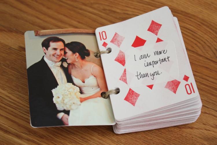 Geschenke Zum Valentinstag Liebeserklärung DIY Geschenkideen Spielkarten
