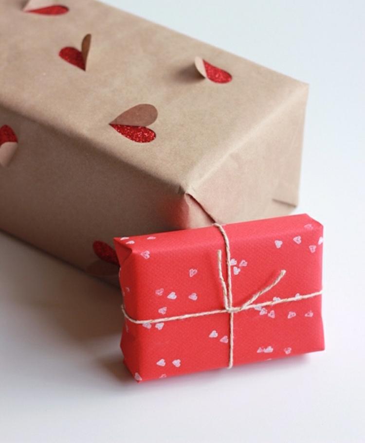 Geschenke Zum Valentinstag Schön Verpacken Liebeserklärung
