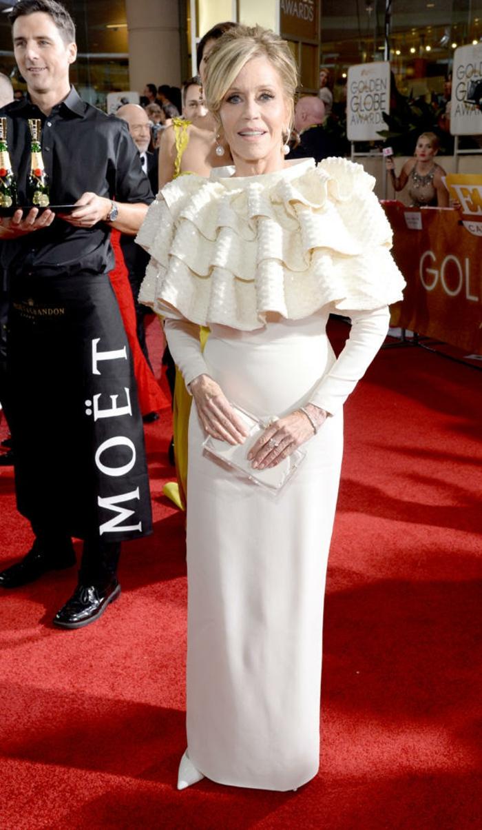 Golden Globes 2016 Abendkleider lang jane fonda