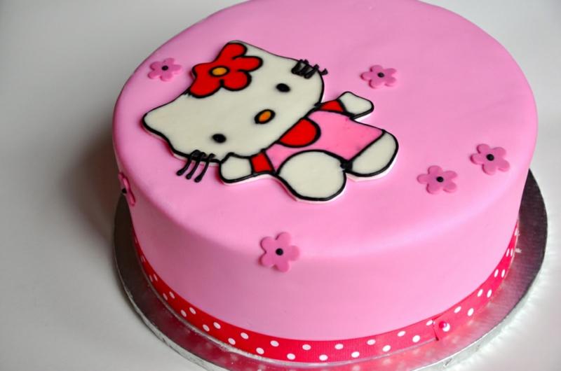 Hello Kitty Geburtstagstorten Bilder Kindergeburtstagstorten Mädchen