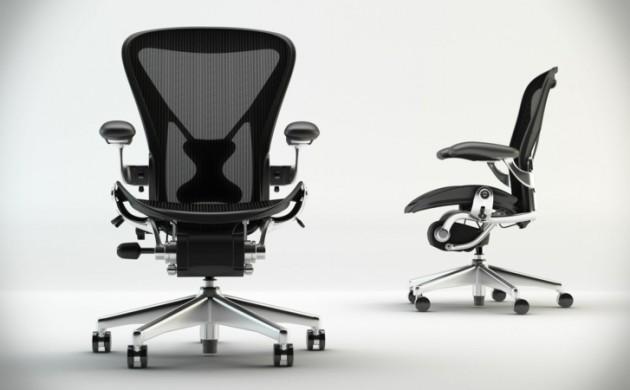 Herman-Miller-Aeron-Bürostuhl-schwarz