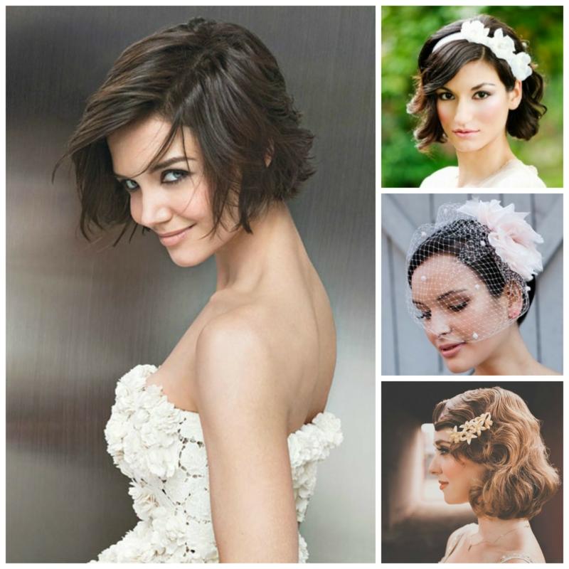Hochzeitsfrisuren kurze Haare Ideen und Beispiele