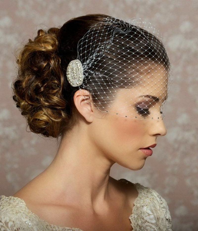 Hochzeitsfrisuren lange Haare Hochzeit Haarschmuck