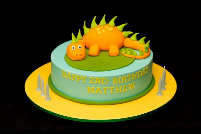 Kinder Geburtstagstorte Bilder Dinosaurier Tortendekoration