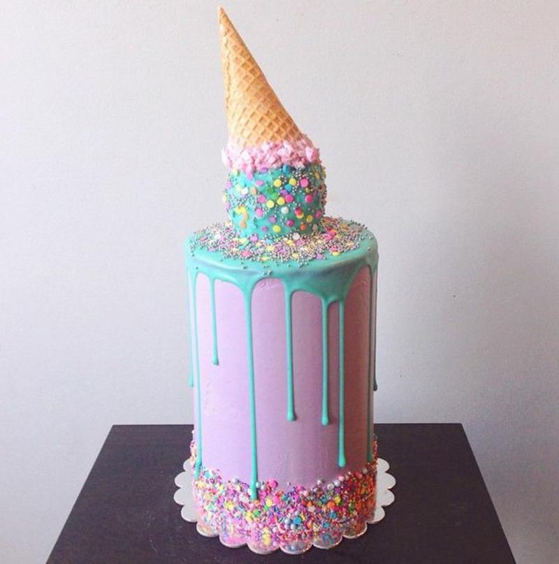 Kinder Geburtstagstorte Bilder Eis Tortendeko