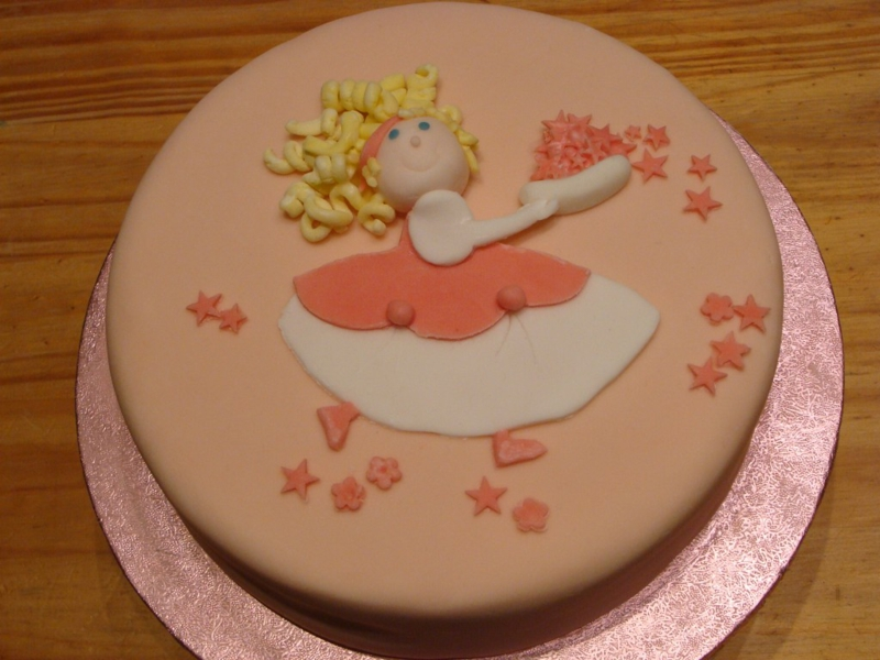 Kinder Geburtstagstorte Bilder Tortendekoration Mädchen