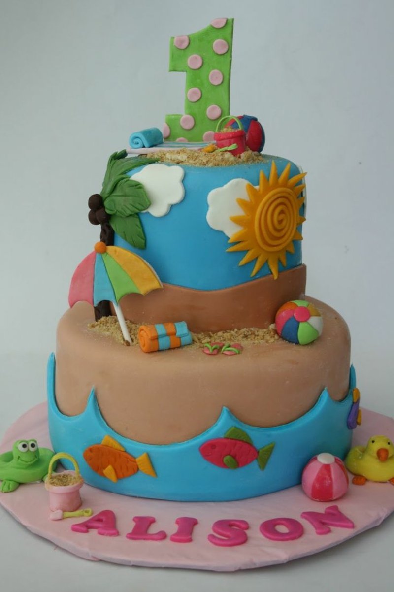 Kinder Geburtstagstorte Bilder zum ersten Geburtstag Alison