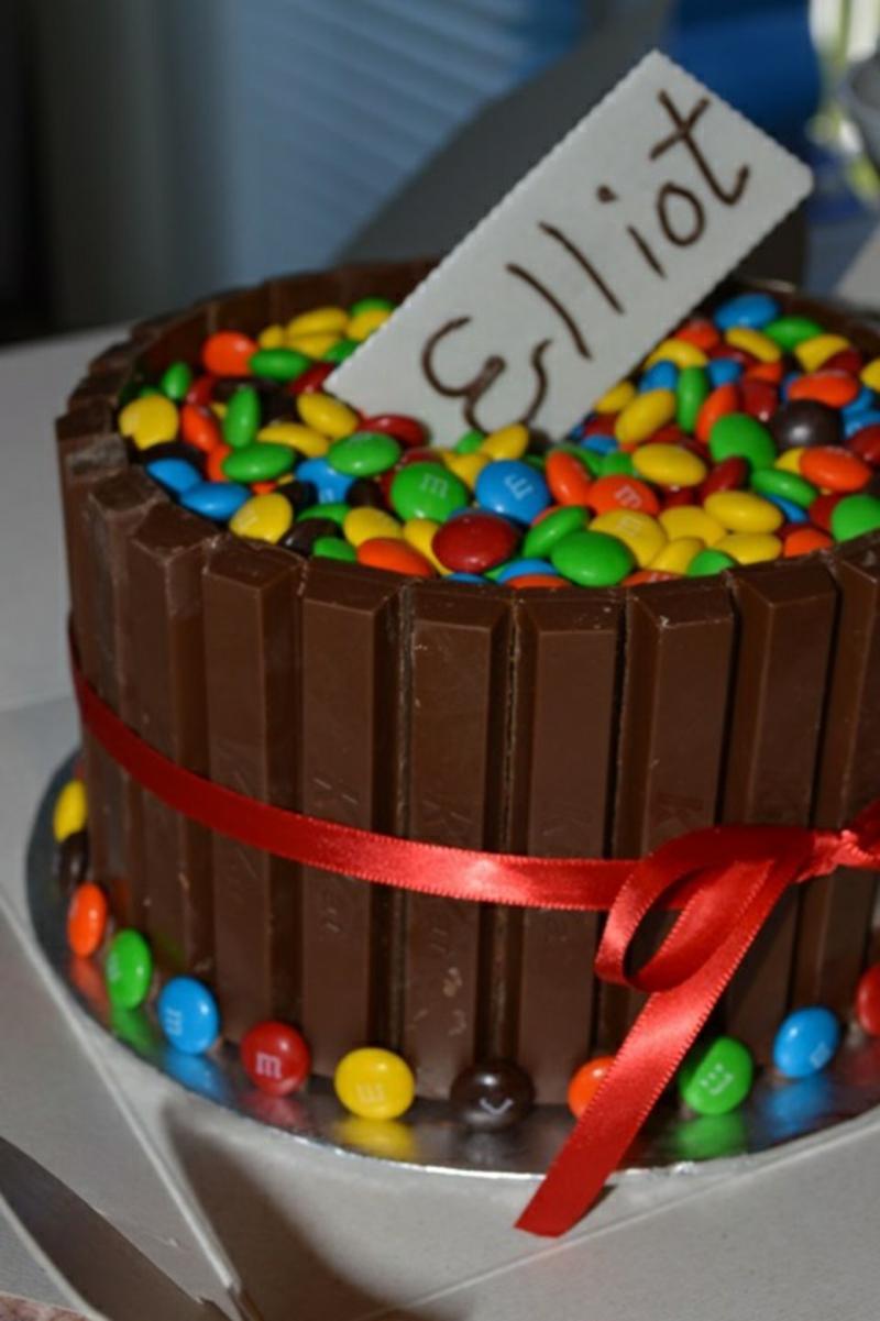 Kinder Kit Kat Tortendeko Geburtstagstorten Bilder