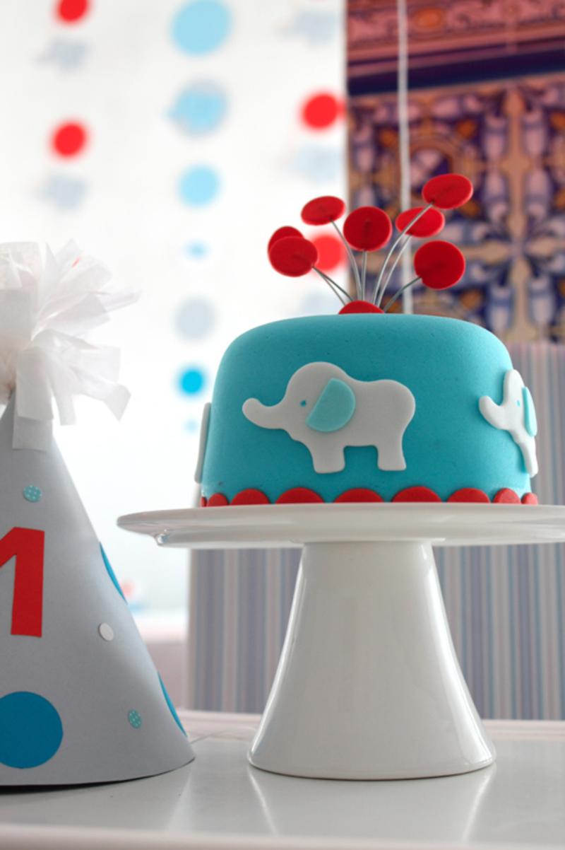 Kindertorte Geburtstagstorten Bilder Tortendeko Elefanten