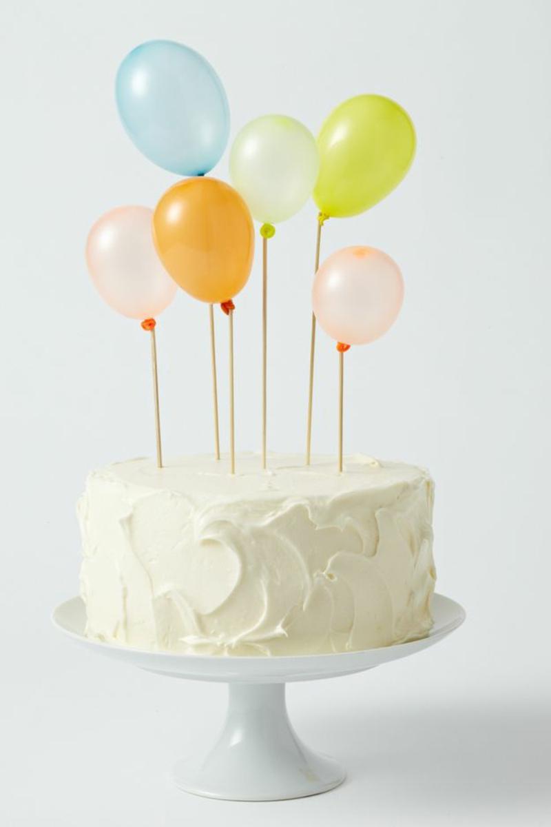 Kindergeburtstagstorte Bilder Tortendeko Luftballons