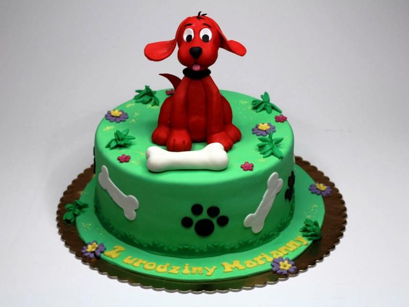 Kindertorte Geburtstagstorten Bilder Tortendeko 3D Hund