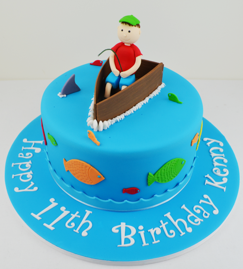 Birthday Cakes For Fishing