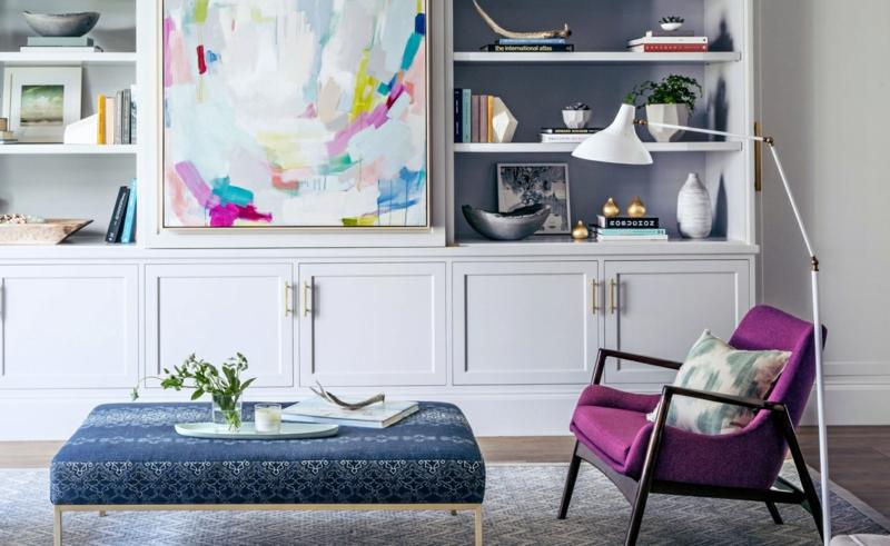 Kreative Einrichtungsideen klassische Wohnzimmermöbel Einrichtungsbeispiele