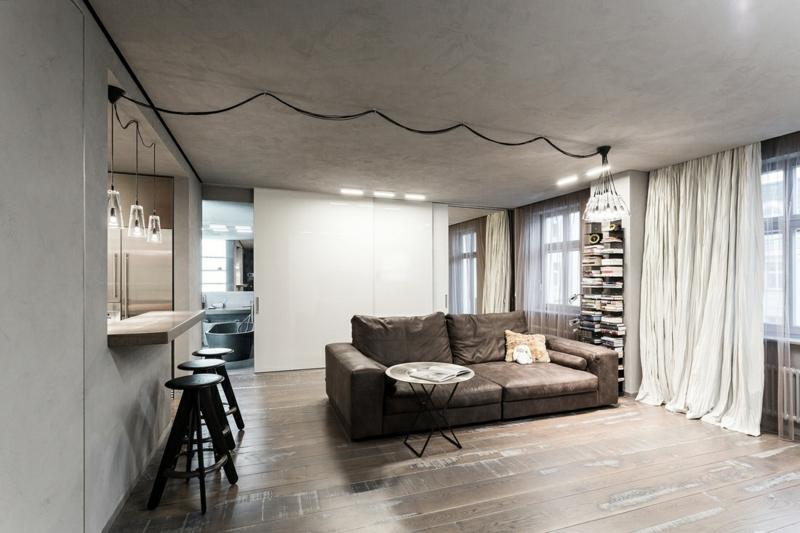 Kreative Einrichtungsideen offene Raumgestaltung Einrichtungsbeispiele