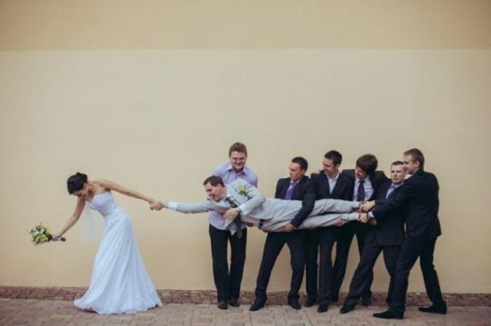 Lustige Hochzeitsbilder Bildergalerie Braut und Bräutigam