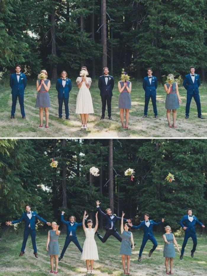 Lustige Hochzeitsbilder Bildergalerie Brautstrauß