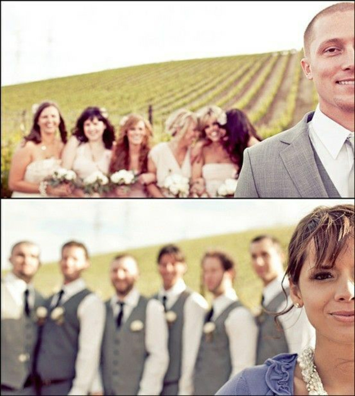 Lustige Hochzeitsbilder machen Bildergalerie