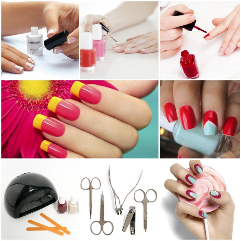 Maniküre selber machen nagelpflege nägel selber machen