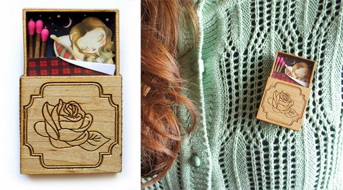 Modeschmuck Ketten maerchenmotive laliblue kette halskette schmuck selbst gemacht