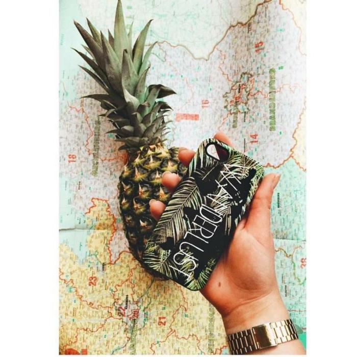 Samsung Galaxy S6 Hüllen selbst gestalten ananas