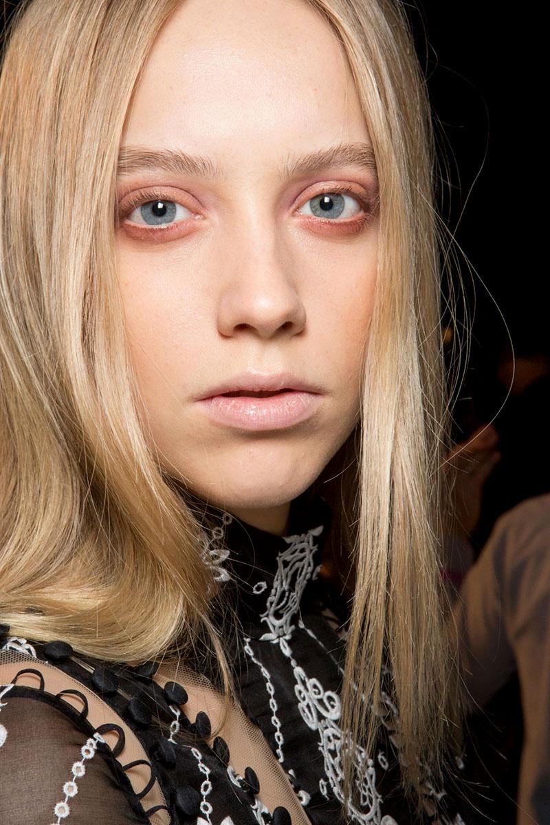 Schminktipps rosa Lidschatten Augen Make up Trends erdem