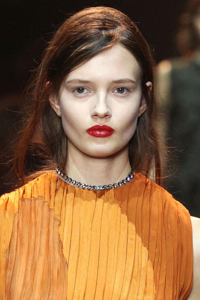 Schminktipps rote Lippen Make up Trends nina ricci