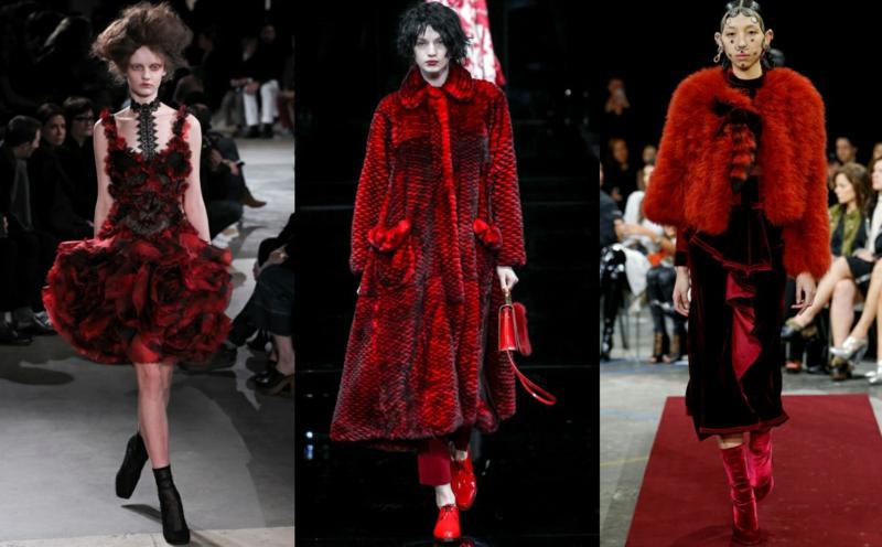 Styling Tipps Modetrends 2016 Bilder Trendfarbe Rot