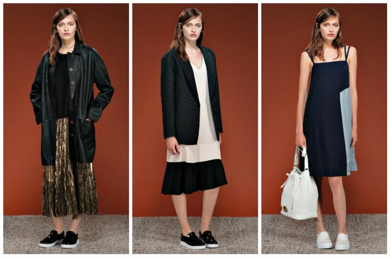 Styling Tipps Modetrends 2016 Schwarz Weiß weite Schnitte