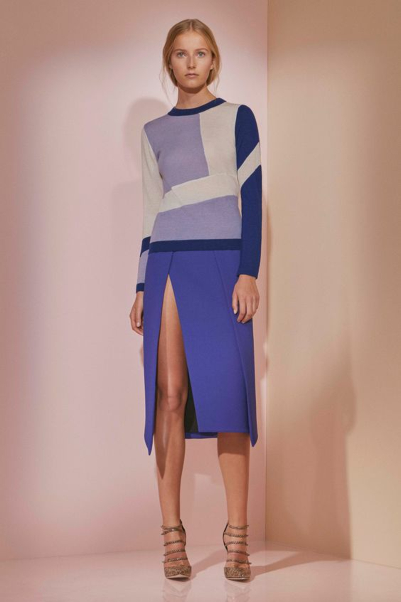 Styling Tipps Modetrends 2016 Trendfarbe blaue Farbnuancen