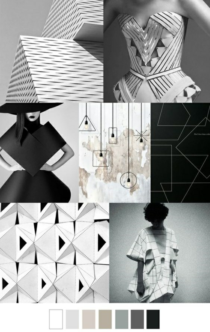 Styling Tipps Modetrends 2016 Trendfarben monochrom