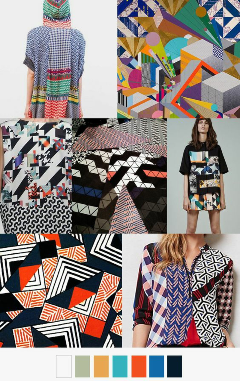 Styling Tipps Modetrends 2016 bunte Designer Mode