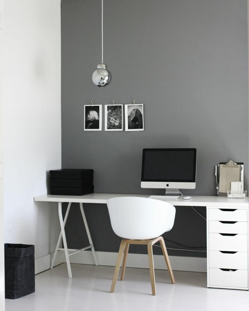 Weiße Wandfarbe In Kombination Mit Anderen Frischen